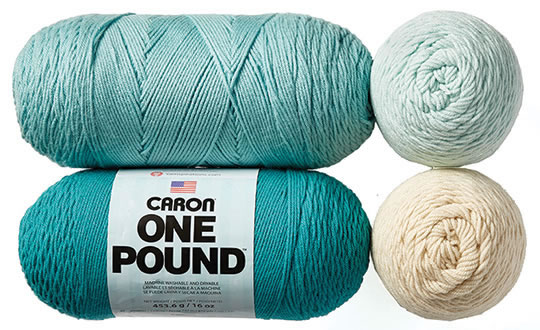 Caron One Pound or Jumbo Yarn.