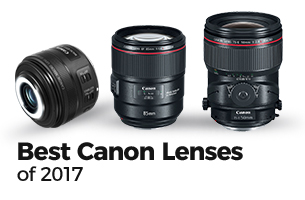 Best Canon Lenses of 2017