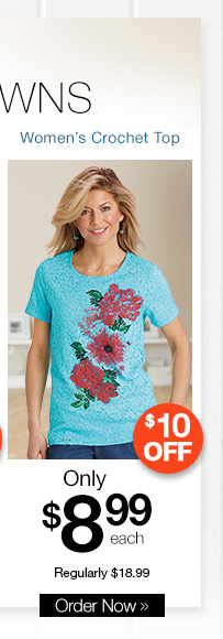 Women's Crochet Top