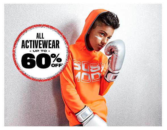 All Activewear Up to 60% Off