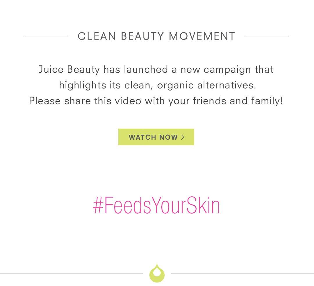 Clean Beauty Movement