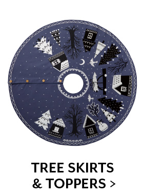Shop Tree Skirts and Toppers