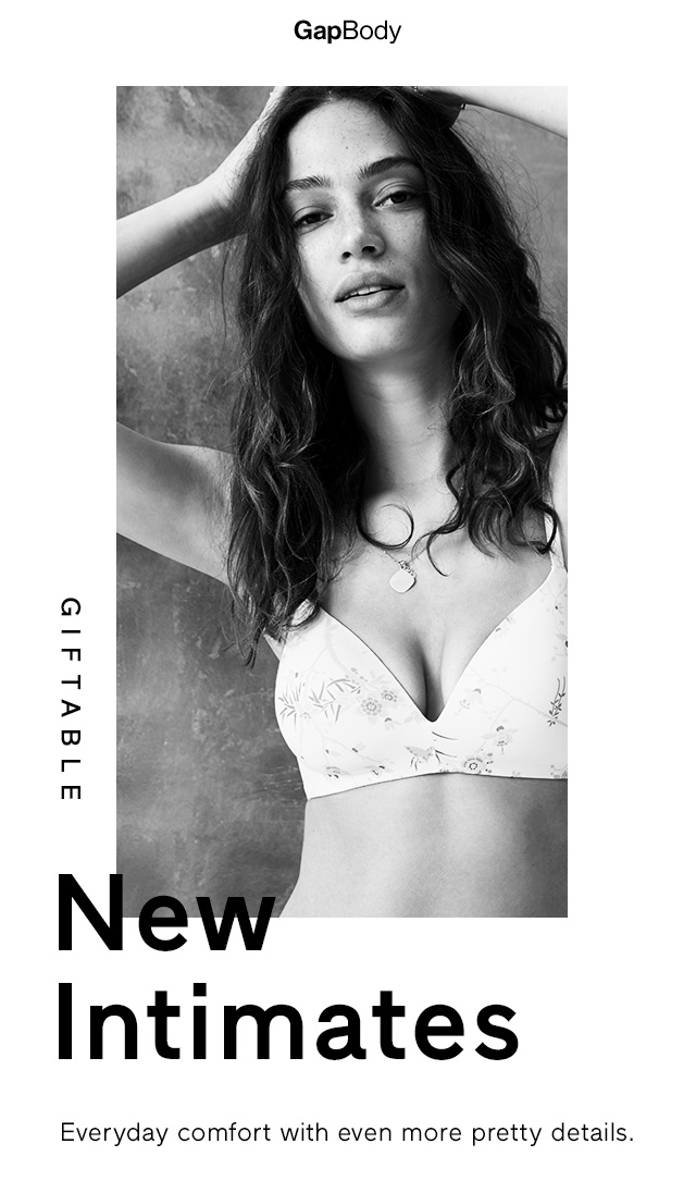 GapBody | GIFTABLE New Intimates