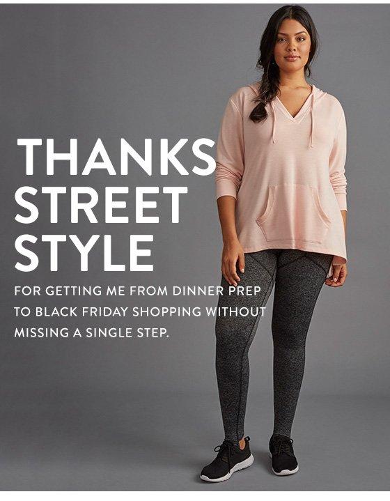 Thanks Street Style