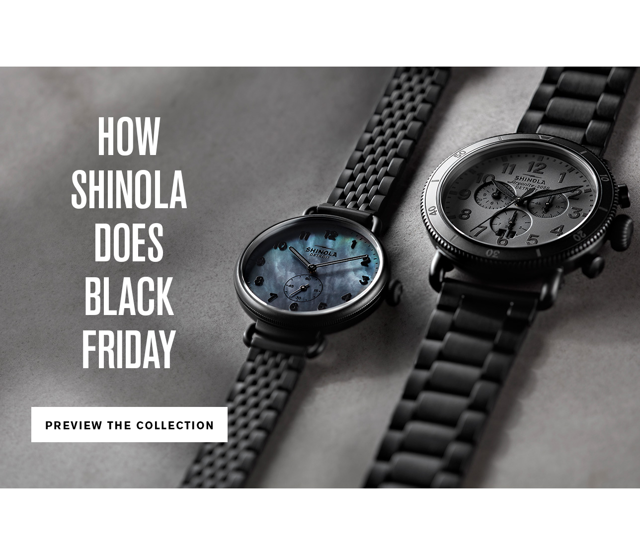 Shinola Detroit Give The Best Watches To Your Best People