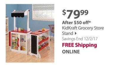 """KidKraft Grocery Store Stand"""
