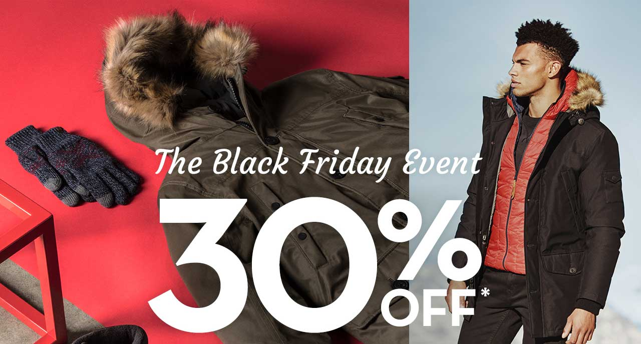 The Black Friday Event 30% Off*