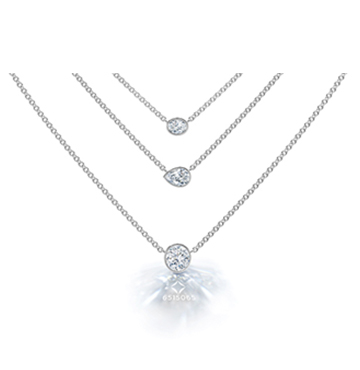 The Forevermark Tribute Collection Diamond Layering Pendants