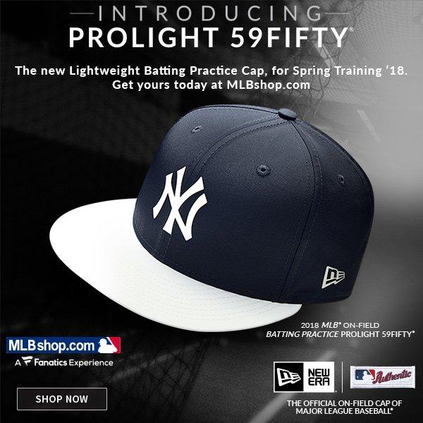 MLBShop.com  JUST IN  Yankees New Era Prolight 59Fifty Caps  30f074662cc