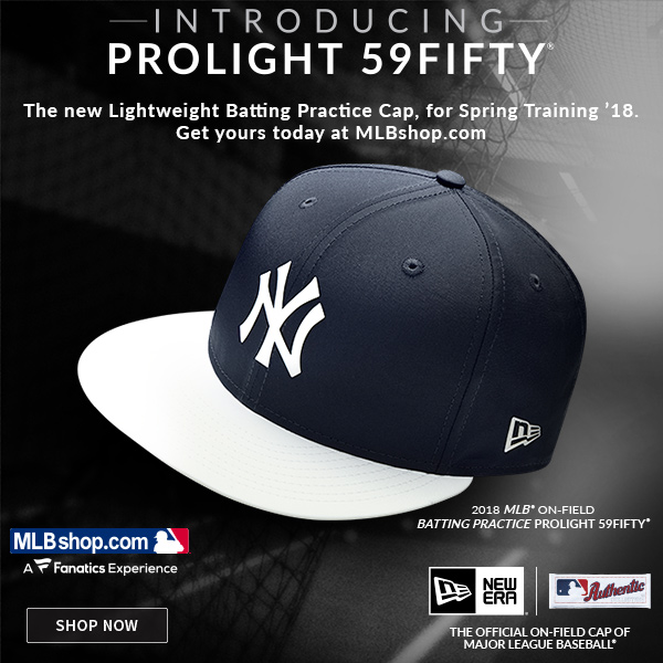 MLBShop.com  JUST IN  Yankees New Era Prolight 59Fifty Caps  b23675f3155