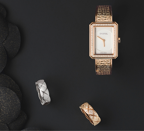 Step into the world of CHANEL Watches and Fine Jewelry and discover a selection of iconic, emblematic and timeless creations. Please call 800.550.5355 for more information.