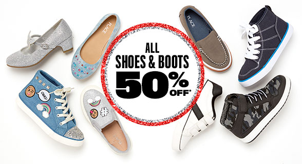 All Shoes 50% Off