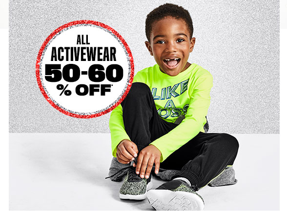 All Activewear 50-60% Off