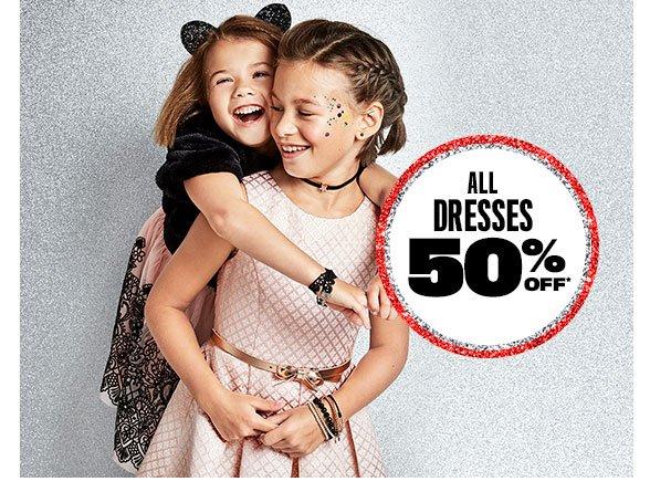 All Dresses 50% Off
