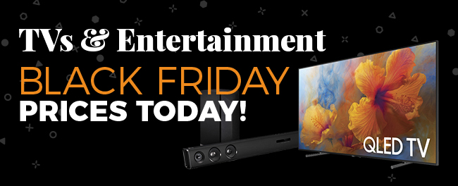 TVs & Entertainment Black Friday Prices Today! - FREE SHIPPING on most items