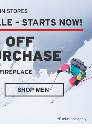 40% OFF YOUR PURCHASE | SHOP MEN