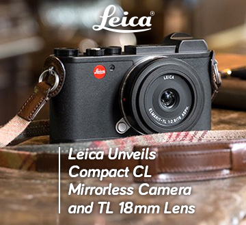 Leica Unveils Compact CL MIrrorless Camera and TL 18mm Lens