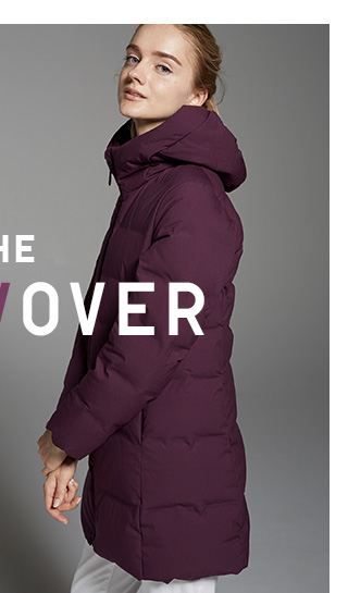THE UNDER/OVER  - Shop Women's Seamless Down Coat
