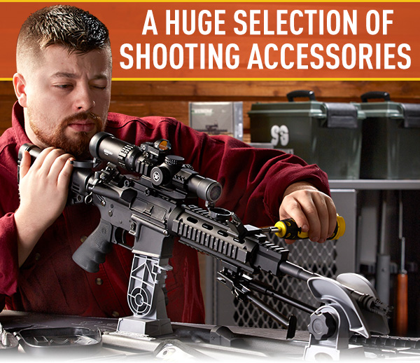 A Huge Selection Of Shooting Accessories