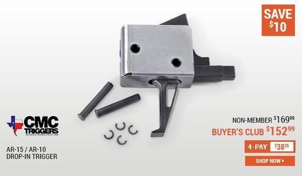 CMC Triggers AR-15/AR-10 Drop-In Trigger