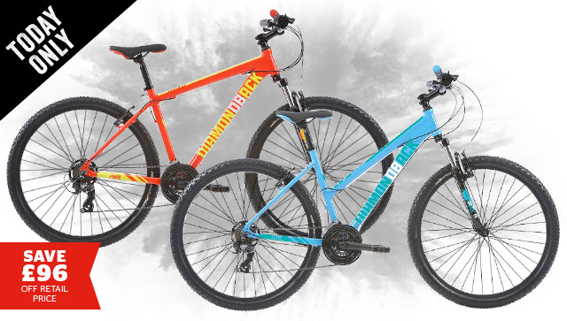 Diamondback Men's Hyrax / Women's Elios 27.5 Mountain Bike