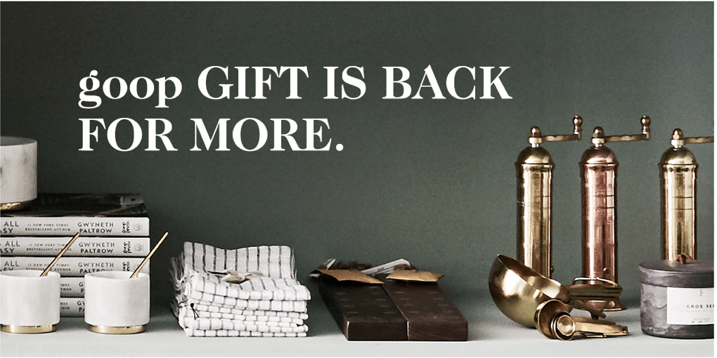 goopGift is back for more