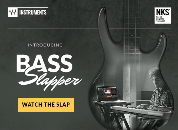 Waves Audio: NEW instrument – Bass Slapper   Milled