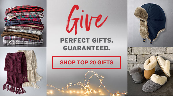 PERFECT GIFTS GUARANTEED | SHOP TOP 20 GIFTS