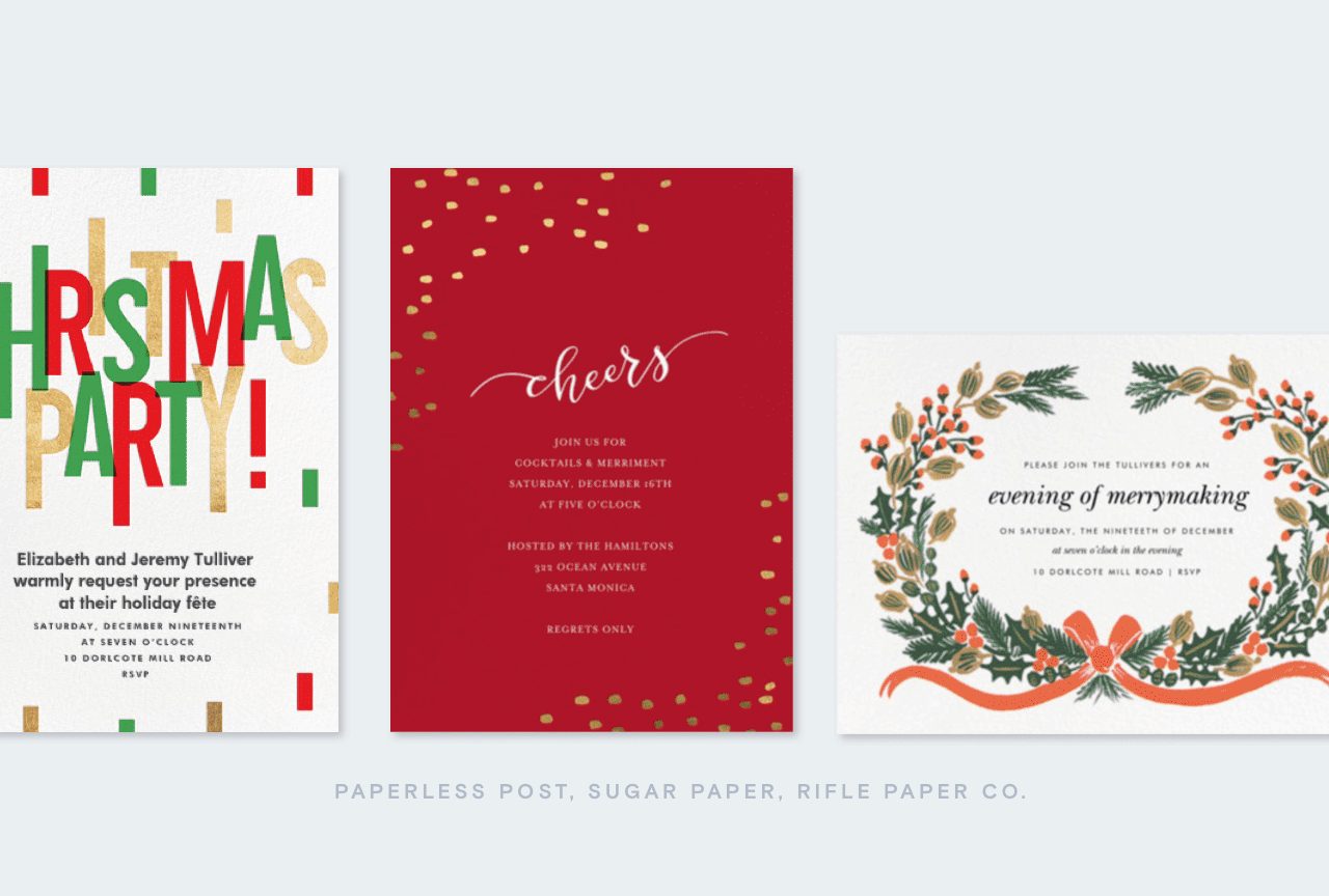 Paperless Post: A fashionable holiday with Hayley Bloomingdale | Milled