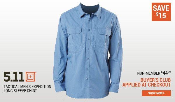 5.11 Tactical Men's Expedition Long Sleeve Shirt