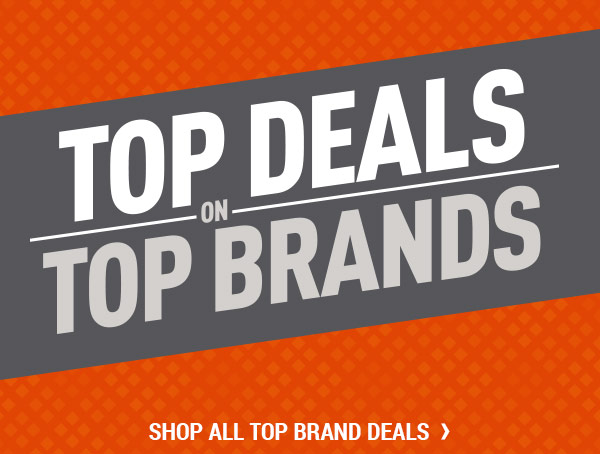 Top Deals on Top Brands. Shop all Top Brand Deals.