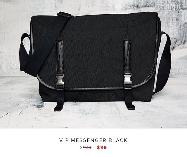 VIP messenger black was $199 | now $99