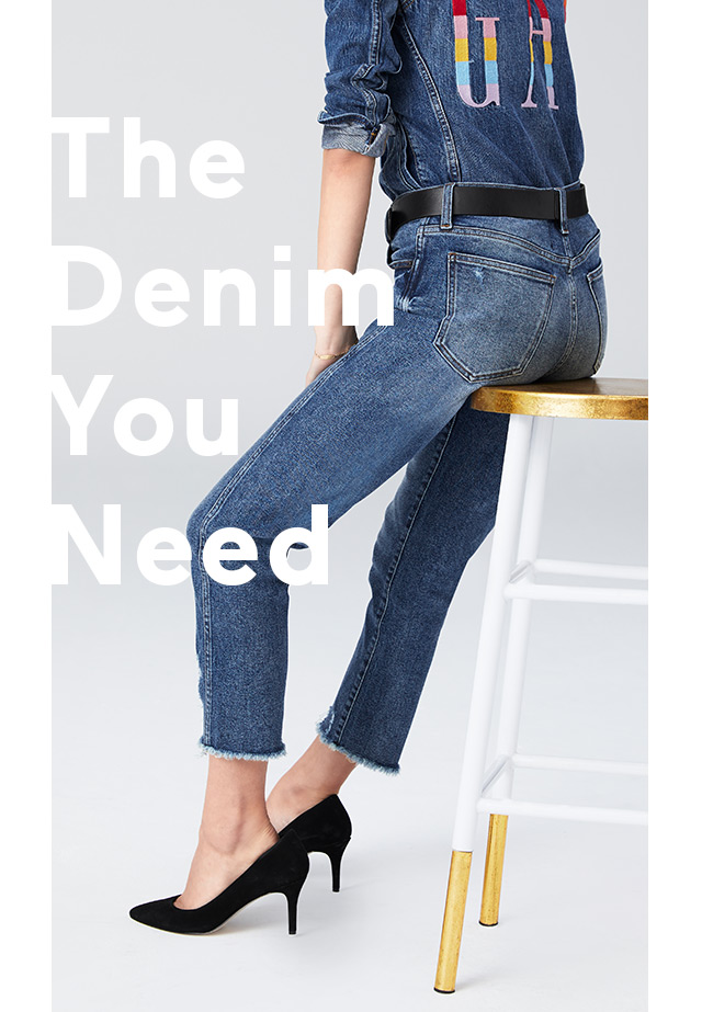 The Denim You Need