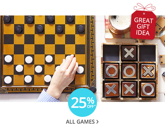 25% off all games