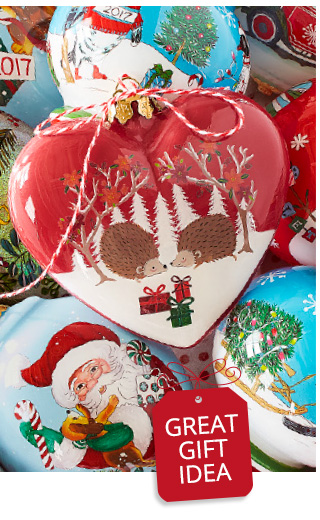 25% off all christmas ornaments