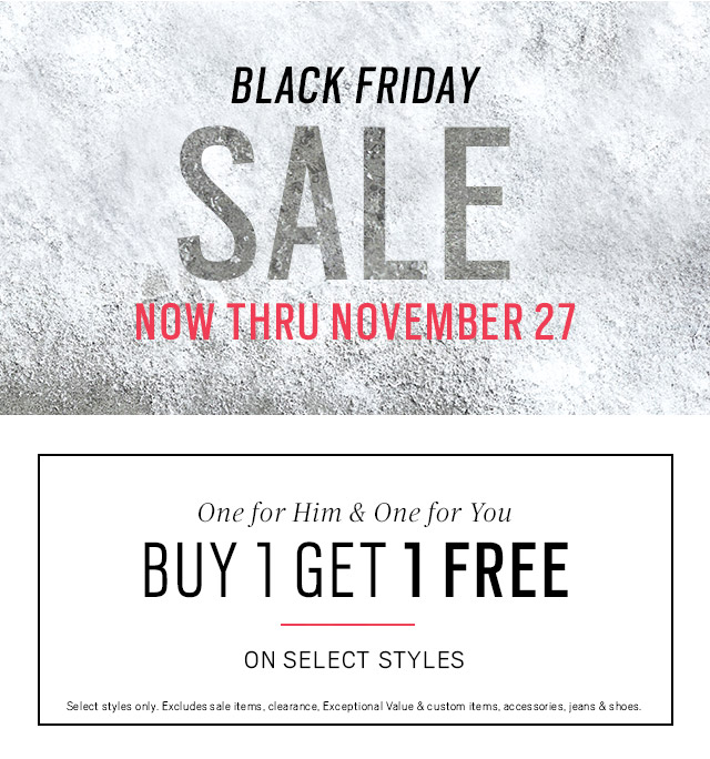 Superb Moores Clothing: Black Friday Event   Deals Too Good For Just One Day. |  Milled Great Pictures