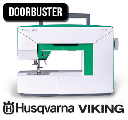 Husqvarna Viking Jade 20 Sewing Machine.