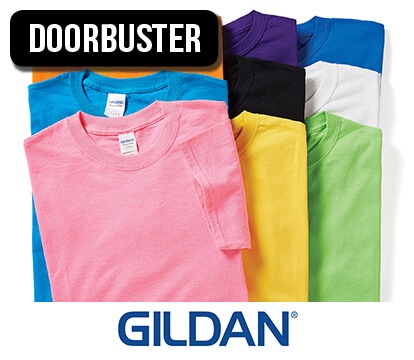 Gildan Short Sleeve T-Shirts .