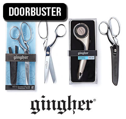 Gingher Sewing and Quilting Cutting Tools.
