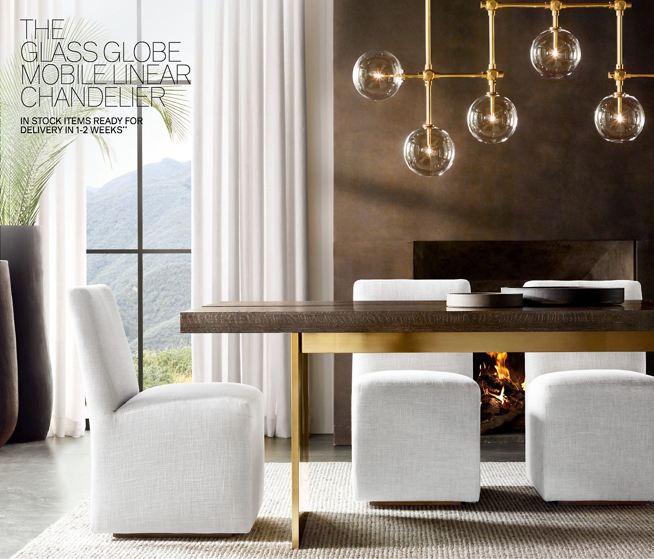 Restoration Hardware The Channel Dining Table In Stock Items Ready - Rh modern dining table