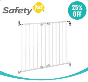 Safety 1st Wall-Fix Extending Metal Gate