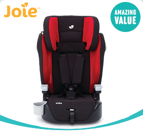 Joie Elevate Cherry Group 1-2-3 Car Seat