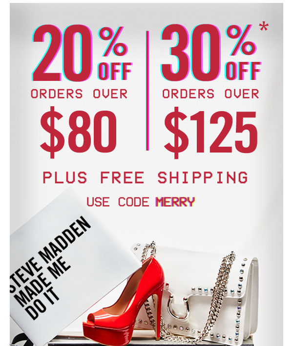Our gift to you: use code MERRY at checkout to get the latest promotion!