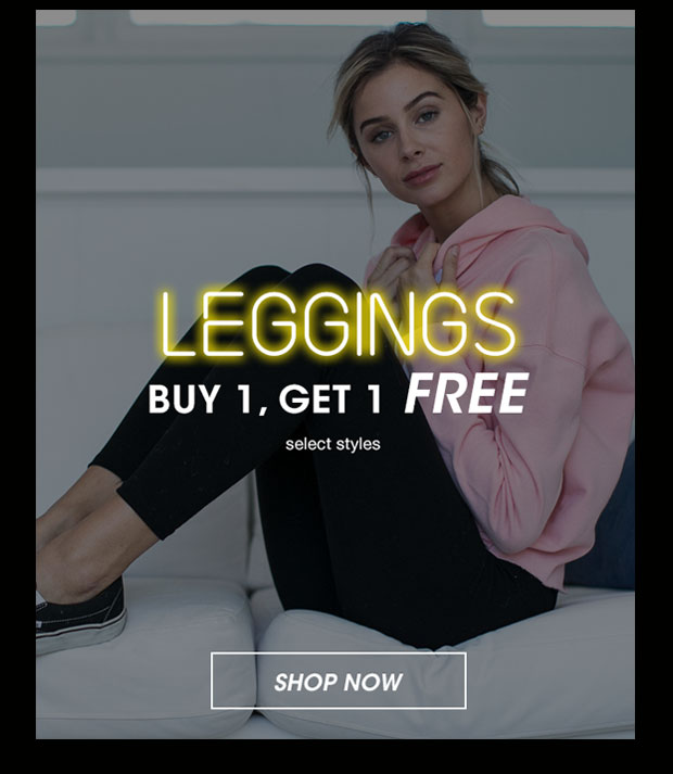 Leggings Buy 1, Get 1 Free - Shop Now
