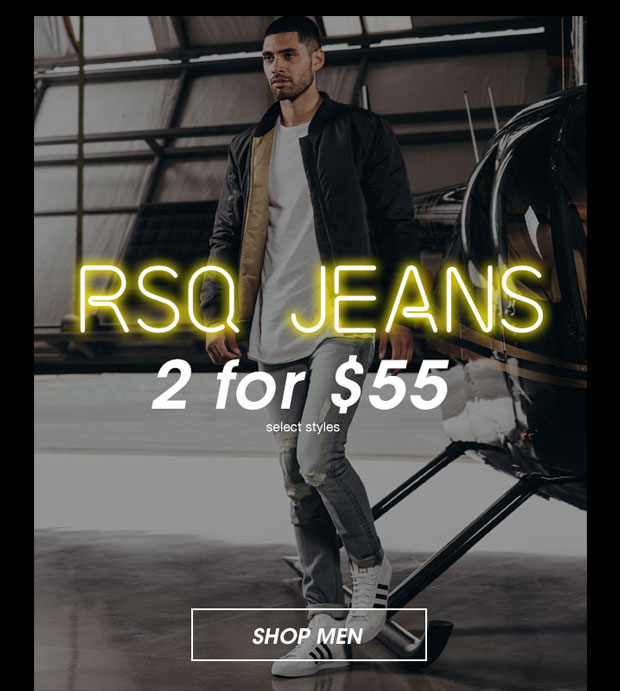 RSQ Jeans 2 for $55 - Shop Men