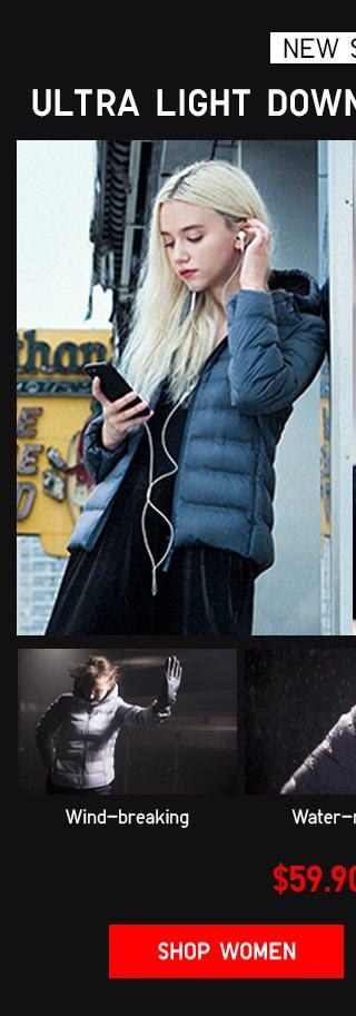 NEW STYLE - ULTRA LIGHT DOWN SEAMLESS PARKA $59.90 - Shop Women