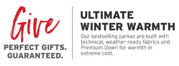 ULTIMATE WINTER WARMTH | SHOP OUTERWEAR