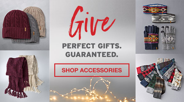 PERFECT GIFTS GUARANTEED | SHOP ACCESSORIES