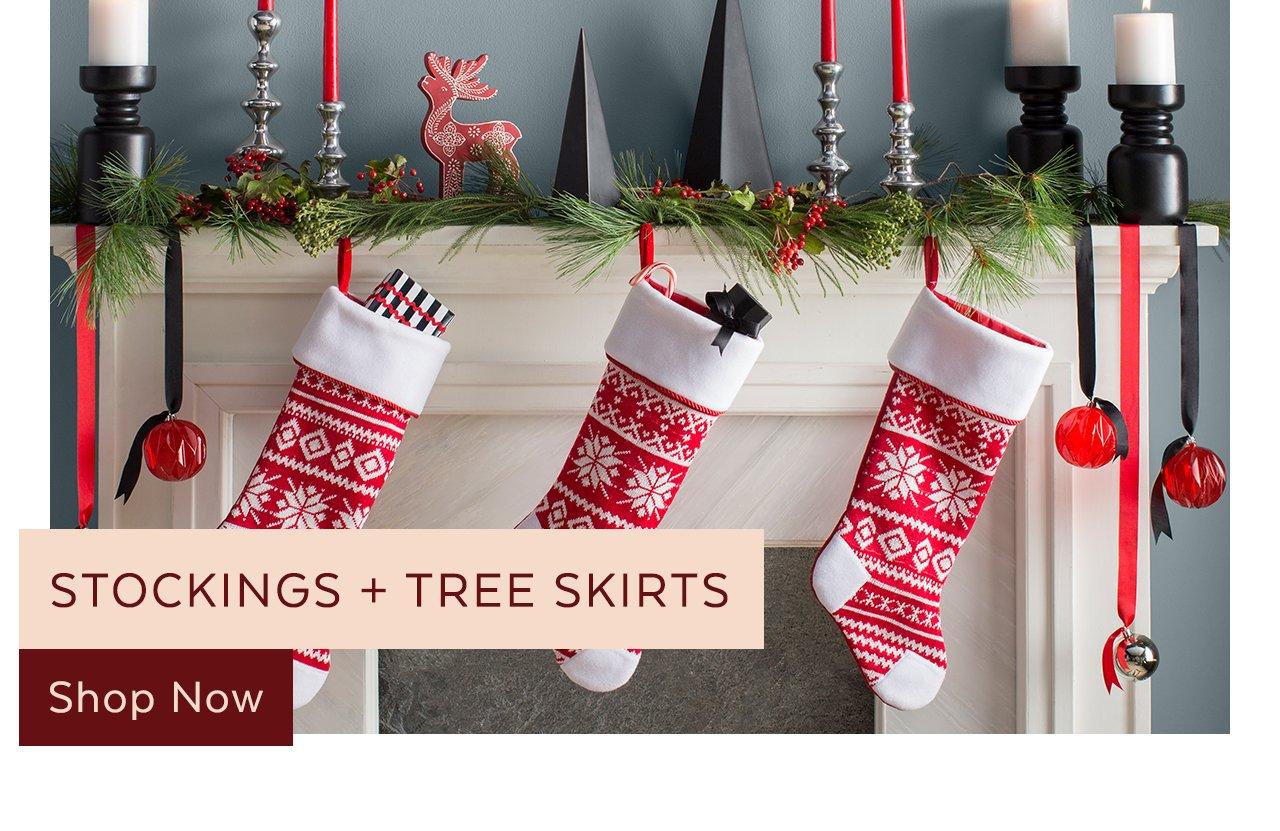 Stockings + Tree Skirts