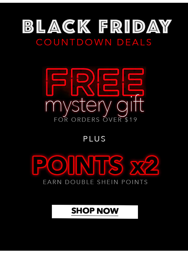 b382c251254b SheInside: Who leaked Black Friday secret!? Free Gifts + UP TO 75 ...